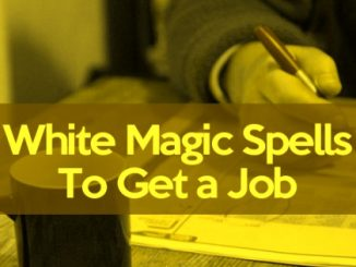 Spells To Get A Job Offer
